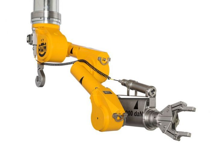 A1000 manipulator: Heavy work in the nuclear industry